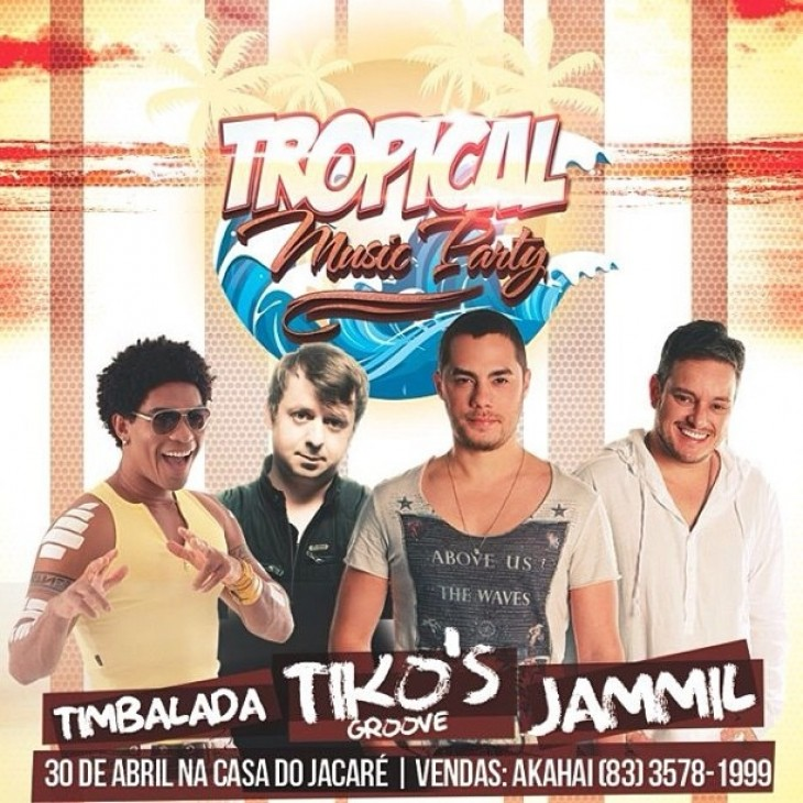 Tropical Music Party: sorteio