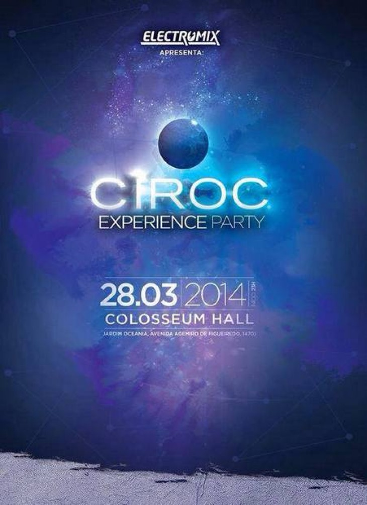 Sorteio Ciroc Experience Party