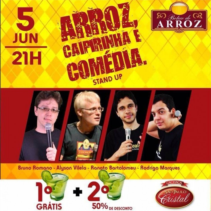 Stand up no Boteco do Arroz